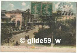 LYON - Gare De Perrache Et Hôtel Terminus (animée) - N° 30 - Andere