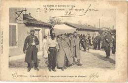 MEURTHE ET MOSELLE 54.VARANGEVILLE GROUPE DE BLESSES FRANCAIS ET ALLEMANDS MILITARIA GUERRE 14 18 - France