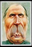 Francois Mitterrand Par Mulatier, Vierge - Satirical