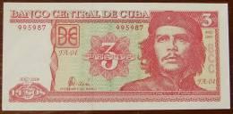 3 Pesos Kuba  2004 Che Guevara UNC