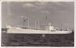 VISTAFJORD  NORWAY Den Norske Amerikalinje A/S   Built 1960 Photo-card Sized Postcard - Commercio