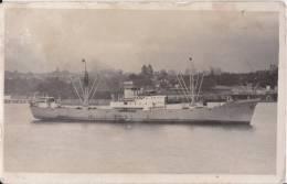 NORVIKEN  Wallem & Co A/S NORWAY  Built 1950 Photo-card Sized Postcard - Commercio