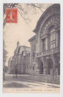 (RECTO / VERSO) EVREUX EN 1912 - N° 54 - L' HOTEL DE VILLE - LE THEATRE - Evreux