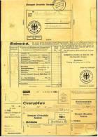 1937 Mahnzettel Mit Steuerzahlkarte - Unterhebstelle Fränkisch-Crumbach Odenwald - - Documenti Storici