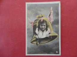 Rppc Little Girl In Bell  Ref 923 - Other
