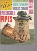 Abc Decor Le Guide Des Antiquite  Dossier 7 Pages Sur Les Pipes Avec Photos - Livres