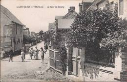 SAINT-JEAN-le-THOMAS - Le Haut Du Bourg (animé) - France