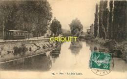 Cpa 64 Pau, Le Bois Louis, Tramway, Affranchie 1908 - Pau
