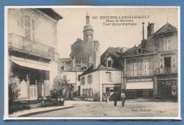 03 - BOURBON L´ARCHAMBAUL -- Place St Germain - Bourbon L'Archambault