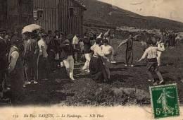 Le Fandango En Pays Basque. - Danses