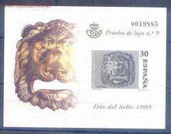 ESPO34-L1130TO.España.Spain .Espagne .Prueba De Lujo.DIA DEL SELLO 1995 .(Ed  PO 34) Sin Charnela.LUJO - Otros