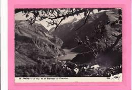 PHOTOGRAPHES / ROBY / LE FRENEY  (38) / Le Puy Et Le Barrage Du Chambon / Tirage Sur Papier Brillant - Illustrateurs & Photographes