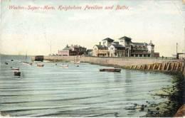 ANGLETERRE WESTON SUPER MARE KNIGHSTONE PAVILION AND BATHS - Weston-Super-Mare