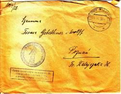 POLAND 1928 Cover - 1919-1939 Republik