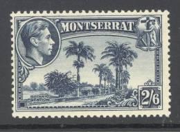 MONTSERRAT, 1938 2s6d (P13) VLMM, Cat £38 - Montserrat