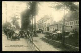 92 - ANTONY -  RARE - La Croix De Berny - Route De Versailles, Passage à Niveau - BELLE ANIMATION - Antony