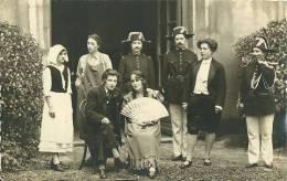 SPECTACLE THEATRE CARTE PHOTO  L'ASSASIN (EDMOND ABOUT) PHOTO E. HELGEN BOURG  GENDARME CHAPEAU - Theater