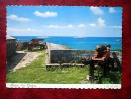 Nassau In The Bahamas - Historic Fort Carlotte - Cannon - 1964 - Bahamas - Unused - Bahamas