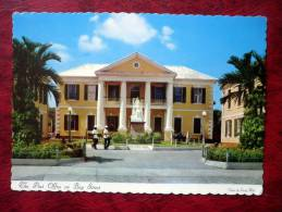 Nassau In The Bahamas - The Post Office On Bay Street - Statue Of Queen Victoria - 1964 - Bahamas - Unused - Bahamas