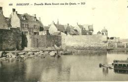 Roscoff. La Tourelle Marie Stuart Vue Des Quais . - Roscoff