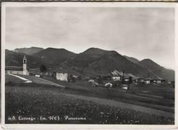 1955 SAN LORENZO ROVETTA PANORAMA FG V SEE 2 SCANS - Altre Città