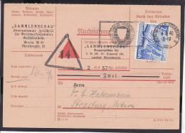 A17  /    Deutsches Reich  / 742 EF Nachnahmekarte TOP RAR  Charlottenburg - Alemania