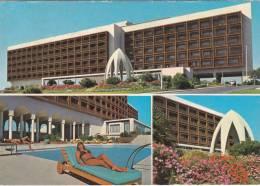 Cp , TUNISIE , TUNIS , Hilton , Multi-Vues - Tunisia
