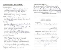 2 Bulletins Trimestriels 1962 1963 NOTRE DAME DE GUINDALOS JURANCON  4 Pages - Diploma's En Schoolrapporten