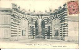 CPA NEUFLIZE-Porte Entrée Du Chateau Pàté - Otros Municipios