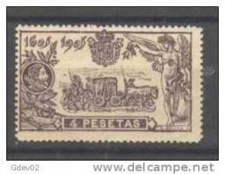 ES265-L2341TVF.España.Spain. Espagne.CEVANTES.EL QUIJOTE .1905.(Ed 265**) SIN Charnela.LUJO - Viñetas De Fantasía