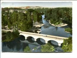 CP-  JENZAT (03) Le Pont De La Sioule Et Le Camping