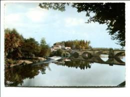 CP-  SAINT POURCAIN SUR SIOULE (03)Vue Hotel Des Deux Ponts Et Sur La Sioule
