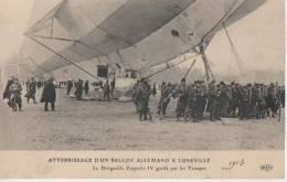 LUNEVILLE ( Atterrissage D'un Ballon Allemand...) - Luneville