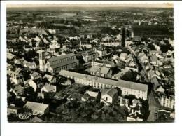 CP- COMMENTRY   Vue Aérienne Sur L église Et Le Théatre