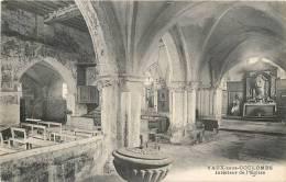 VAUX SOUS COULOMBS COMMUNE DE COULOMBS EN VALOIS L'EGLISE - Other Municipalities