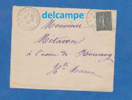 - 1918 - Cachet Postal De DOULAINCOURT ( Haute Marne ) - Postmark Collection (Covers)