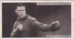 Ogdens Vintage Cigarette Card Pugilists In Action 1928 No 48 Mickey Walker - Ogden's