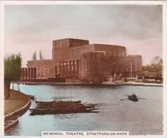 R J Hill Vintage Cigarette Card Views Of Interest 1938 1st Series No 6 Shakespeare Memorial Theatre - Sigaretten
