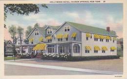 New York Sharon Springs Hollywood Hotel Curteich - Utica