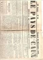 JOURNAL LE PAYS DE CAUX-YVETOT-28 NOVEMBRE 1868 - 1850 - 1899