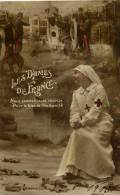 Les Dames De France- Infirmière Et Militaires - Croix-Rouge
