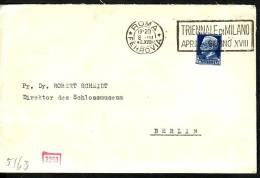 Italien  Brief   -ZENSUR   ( Zz2931  ) Siehe  Scan ! - Italy