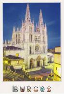 "POSTAL   City Of BURGOS ""CATHEDRAL Of BURGOS"" (SPANIEN)  DL-1388 - Iglesias Y Catedrales"