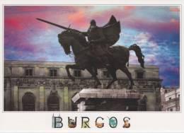 """ANSICHTSKARTEN/POSTAL   City Of BURGOS """"ESTATUA DE EL CID"""" (SPANIEN)  DL-1393 - Burgos"""