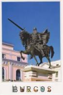 """ANSICHTSKARTEN/POSTAL   City Of BURGOS """"ESTATUA DE EL CID"""" (SPANIEN)  DL-1392 - Burgos"""