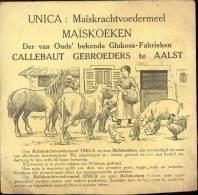 Pub. Reclame UNICA Maiskoeken - Callebaut Gebrs - Werbung