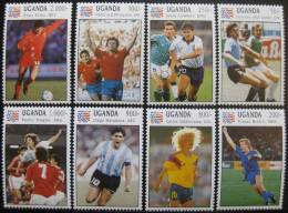 Soccer Football Uganda #1248/55 1994 World Cup USA MNH ** - 1994 – États-Unis