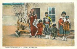 Réf : F -13-004 : Indian Family Pueblo Of Cochiti New Mexico - Etats-Unis