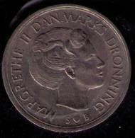 DINAMARCA 1973 - 5 KRONER - KM # 863.1 - Dinamarca