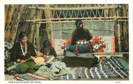 Réf : F -13-015 : How Navajo Rugs Are Made.  New Mexico - Etats-Unis
